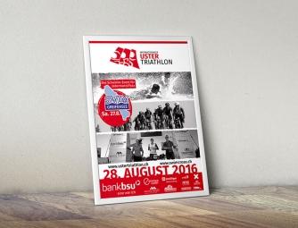 Plakat Uster Triathlon